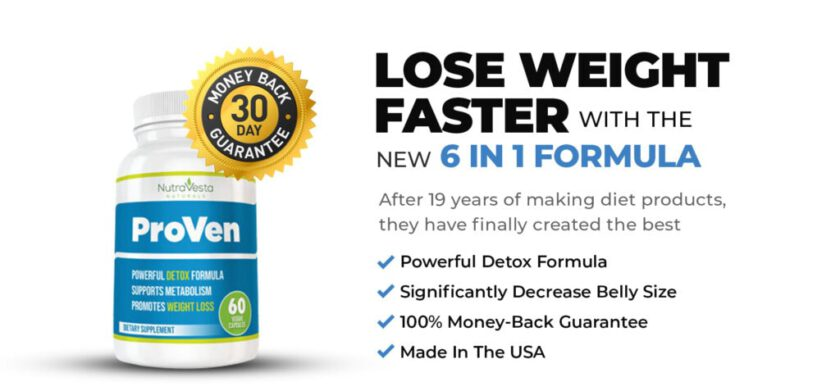 NutraVesta ProVen Weight Loss Formula – 95% Off Today + Free Shipping