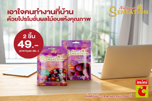 Nature's Sensation offers WFH promotion on premium dried fruits