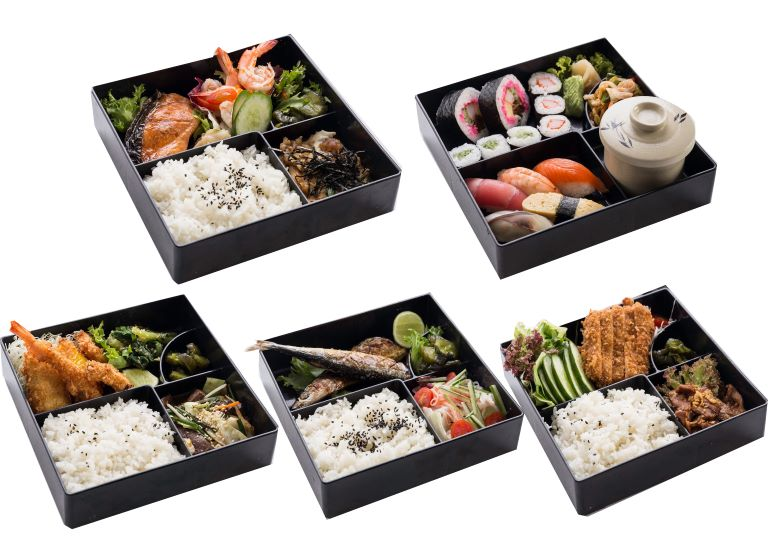 Kameo Grand Hotel Rayong offers a large set of Japanese bento food to be served to your home.
